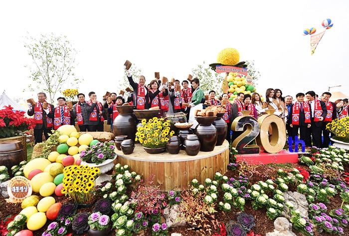 Lễ hội đậu tương Jangdan ở Paju